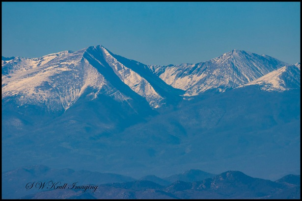 Snow on the Sangre de Cristo Range of Colorado by #swkrullimaging