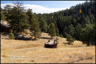 Pony Gulch Homestead Trail in Autumn