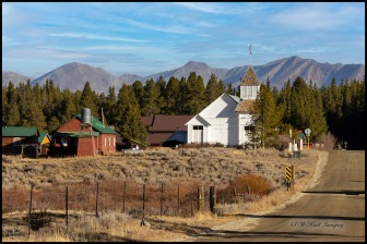 Ghost town of Tin Cup Colorado