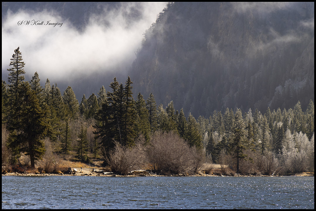 Fog and Frost at Cottonwood Lake Colorado
