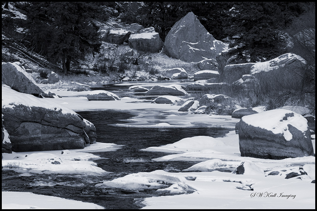 Icy South Platte