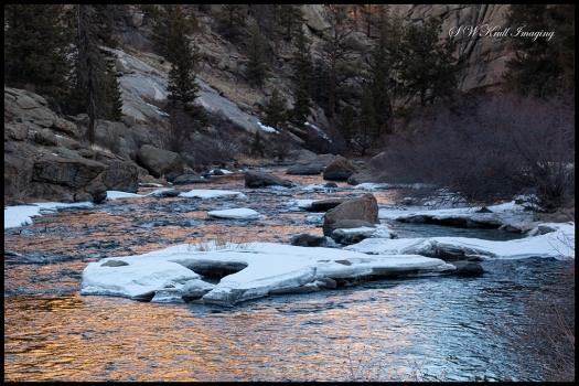 Icy South Platte River