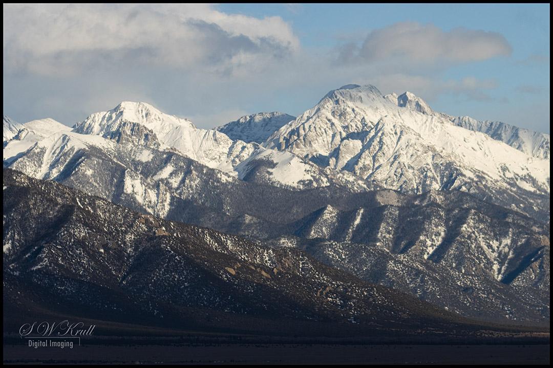 Beautiful Sangre de Cristo Mountains
