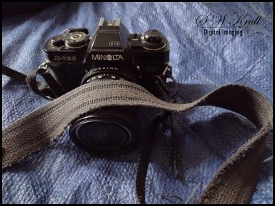 Minolta x-700 with strap