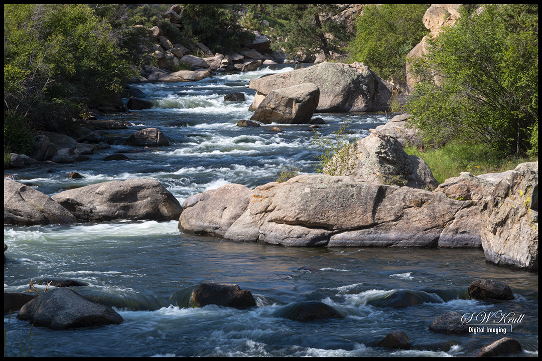 Whitewater in the Platte