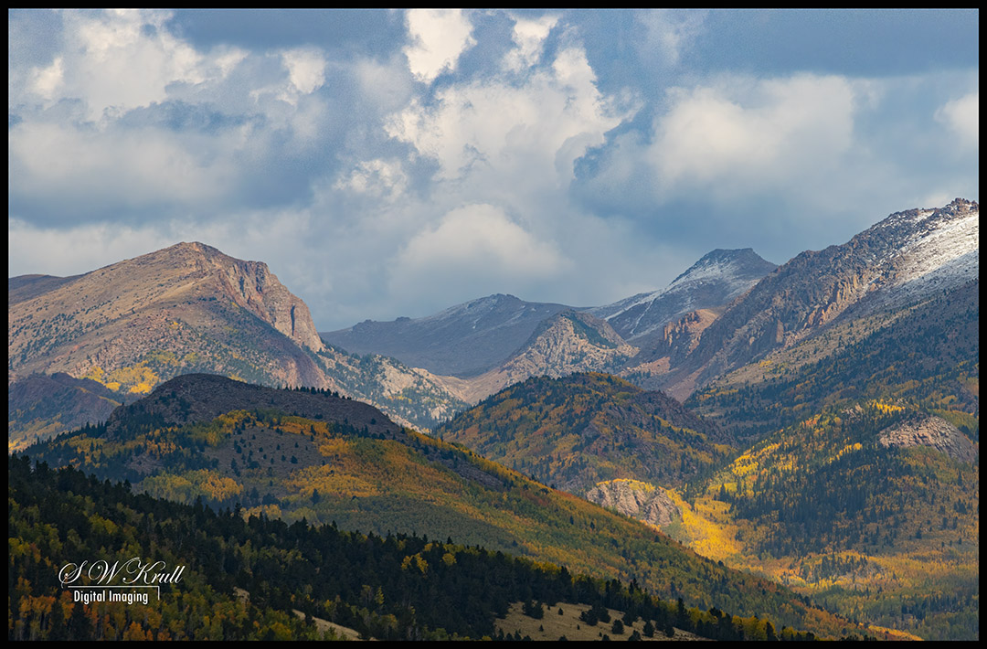 Snow and Fall Colors on Pikes Peak