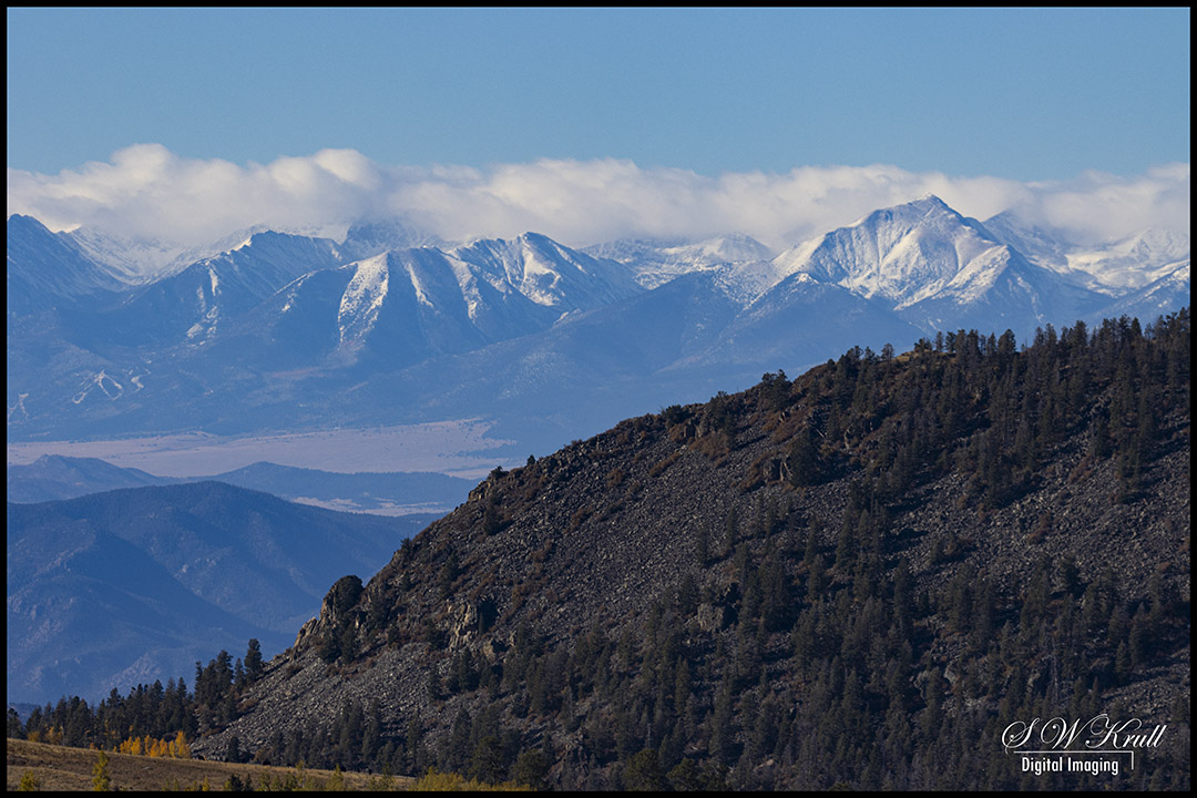 First Snow on the Sangres